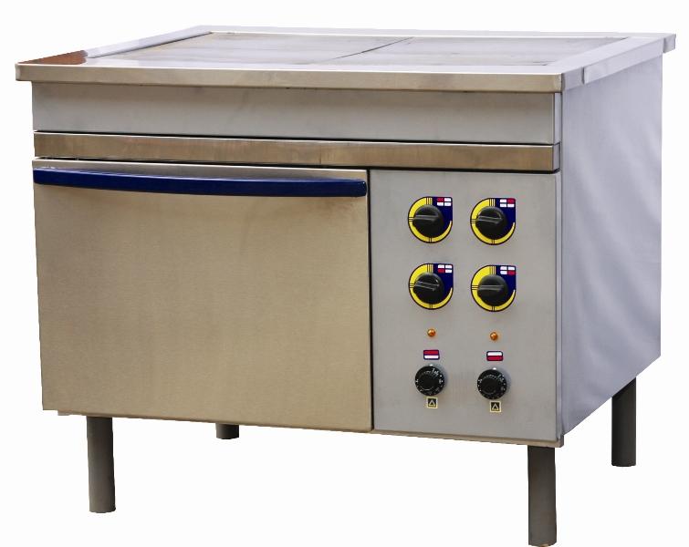Электроплита для столовых баров кафе чертеж установки керамических плит и духовки
